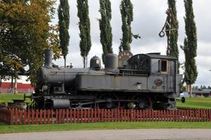 Ånglok K4 1117 byggdes 1911 i Helsingborg, då som  och finns sedan drygt 40 år uppställt i Lokparken i Vansbro