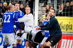 Oscar Berglund, från Adolfsberg, hade en jobbig måndag i återkomsten till Örebro.