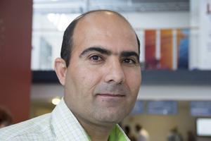– Jag hoppas att det här kan leda till jobb, säger Khaled Ibrahim som är en av de 37 nyanlända som deltar i projektet.