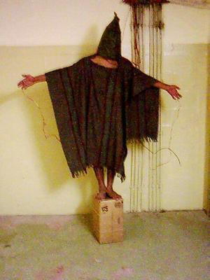 Bilder från Abu Ghraib.
