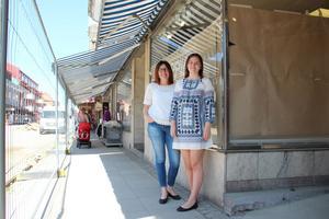 Marie Öberg tror att det nästan kan vara en fördel att ombyggnaden på Hyttgatan tvingar människor att gå närmare butikerna.