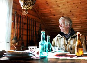 Lasse Malm, Kolsva, har varit med i Kolsvaortens hembygdsförening sedan han var 18 år.