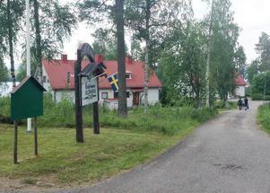 Krokströmmens Vildsmarkscamp fungerar som tillfälligt asylboende under sommaren.