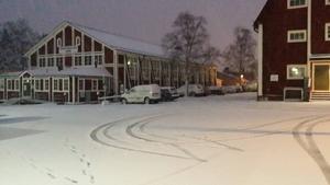 Första snön över Östersund den 22/10. Bilden tagen vid Stadsdel Norr. Håkan Bengtsson, Östersund