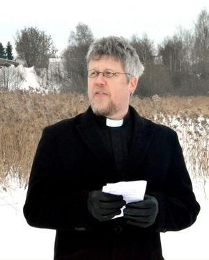 Kyrkoherde Pontus Gunnarsson talade om prövningar av olika slag i sin betraktelse.