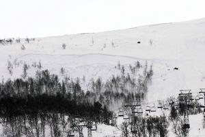 Mannen som avled hittades i snömassorna efter ungefär 40 minuter.