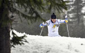 Moraåkern Andreas Holmberg blev bästa svensk i Marcialonga. Bilden är inte från Marcialonga utan från en tidigare tävling.