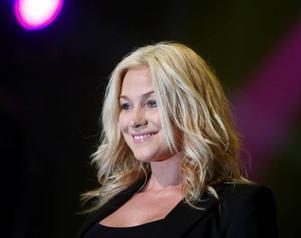 Jessica Andersson vann Melodifestivalen för några år sedan tillsammans med Magnus Bäckman i gruppen Fame.