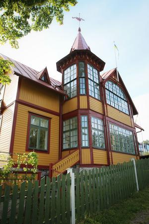 Fastigheten som kallas Tholenska villan i Bönan är tänkt att vara med i Birgitta Lundblads bok.