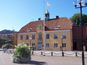 Sölvesborgs rådshus.   Foto: Wikimedia Commons