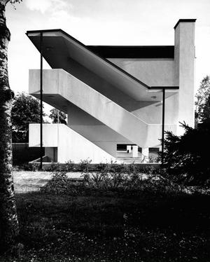 I kvarteret Lundstäkten, Leksand uppfördes 1963 några loftgångshus i två våningar.FOTO: ur Jack Hanson arkitektkontors arkiv