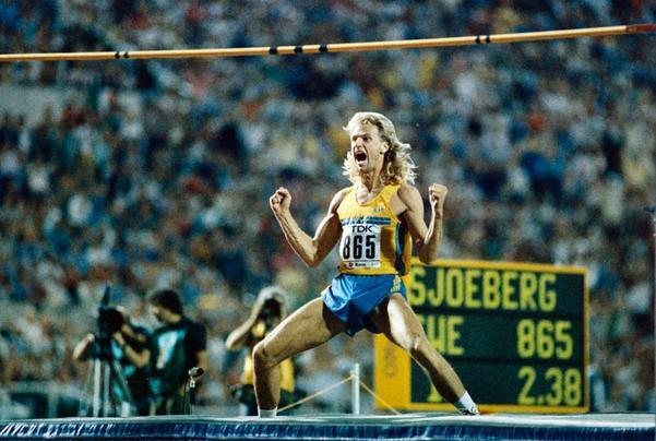 Nousiainen var en framgångsrik tränare. Patrik Sjöberg blev en världsstjärna i höjdhopp.
