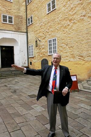 Bildar opinion. Lars Luttropp vill skapa ett historiskt museum i Västerås slott med utställningar om Vasatiden.Foto: Staffan Bjerstedt