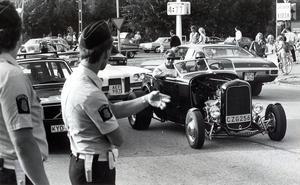 Motorträffen 1985.