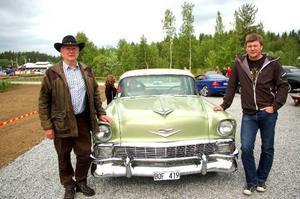 Jan och Jens Backlund körde en Chevrolet Bel Air.