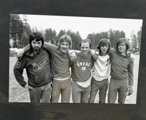 Fotbollsspelare i Sveg från 80-talet