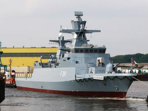 FSG Magdeburg är en oceangående korvett på 1840 tom med 60 man i besättningen.