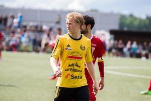Joakim Sunding sänkte Enköping med sitt 3–1-mål.