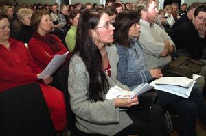 Maria Kjellström, ordförande i föräldraföreningen i Järpen, anser inte att kommunledningen lyssnar på medborgarna i skolfrågan.  Foto: Elisabet Rydell-Janson