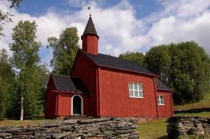 Vikens kapell, som ligger norr om Gäddede, har restaurerats för 500000 kronor.  Foto: Marika Westberg
