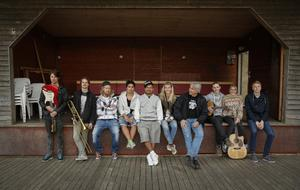 Fabian Mattsson, Benny Karlsson, Kristoffer Villar Moya, Tico Danielsson, Helle Strandberg, Bengt Hilding, Rasmus Söderbrg, Felicia Hallman Robinsson och Alexander Holmberg.