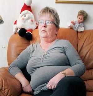 Ingela Ögren, 55, anser att det inte är möjligt för henne att utbilda sig utan ekonomiskt stöd.