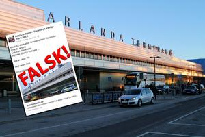 Inget terrordåd har alltså inträffat på Arlanda.