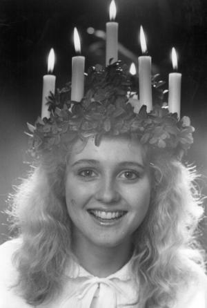 Lucian 1983 hette Eva Marie Pettersson och kom från Järpen. Dagen efter lucia skulle hon börja nytt jobb på Åkab i Järpen.