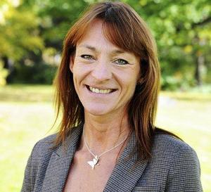 Bollnäs folkhögskolas rektor Annica Wallenborg är glad över att skolan äntligen etablerar sig i Söderhamn.