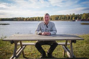 Thomas Thyr hoppas att fiskesäsongen vänder i Ljusne.