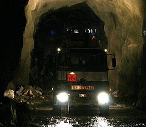 Tunnelbyggen på Botnia och Ådalsbanan är två stora anläggningsarbeten som pågår i Västernorrland