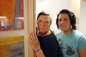 Maggan och Sofia Wennberg är två av de engagerade på kvinnojouren Viljan.