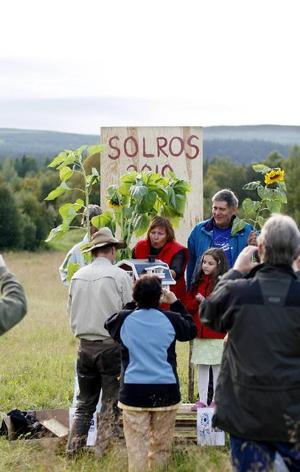 Solrostävlingen är ett arrangemang organiserat av Ljungdalsfjällens utvecklingsgrupp, för att skapa trivsel och gemenskap i området.