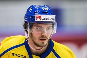 Dennis Everberg i Tre Kronor.