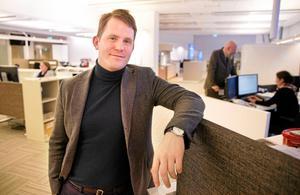 Erik Jersenius, kulturredaktör på VLT.