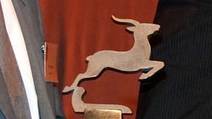 Årets gasell - statyetten är från en tidigare prisutdelning.