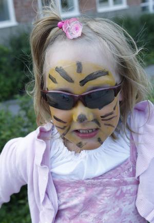 Ida Risarv inte bara såg ut som en tiger, hon kunde ryta som en också.