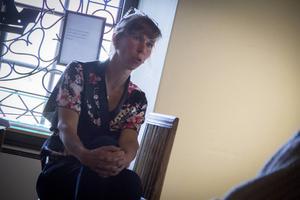Under onsdagen höll Ann-Caroline Breig en föreläsning om outsiderart i samband med utställningen med Lennart Plahns verk.
