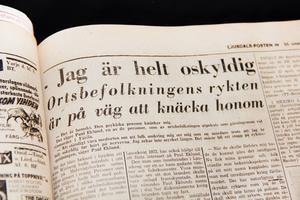 Det pratades vitt och brett på byn och flera anklagades av folket för mordet på Anna Winberg, inte bara sonen.