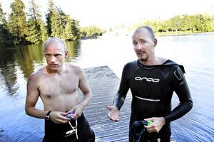 Erik Brodén och Daniel Becker kommer från Göteborg och Vaxholm. De läste om Forsbackarännet på internet och tyckte att det lät som en kul utmaning.