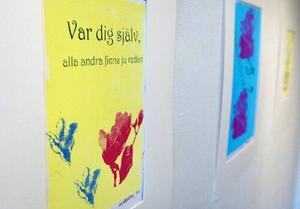 MalinMatilda Allberg är inne på ett intressant spår med sin utställning på Galleri S på temat växande.