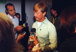 I går var det miljöminister Andreas Carlgrens tur att stå i rampljuset.
