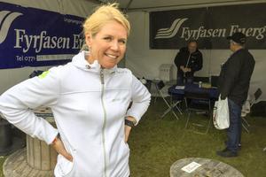 En mycket nöjd vd för Fyrfasen, Cecilia Norberg.
