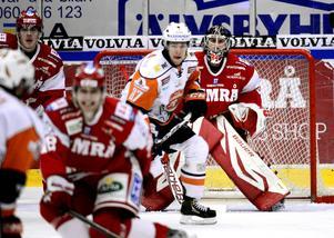 Joakim Lundström tränar med Timrå IK:s juniorer.