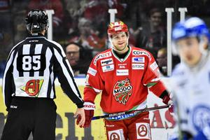 Modo Hockey - Leksands IF, sjunde kvalmatchen, Fjällräven Center, Örnsköldsvik. Per-Åge Skröder.