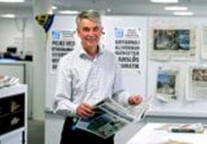 Kjell Carnbro slutade som chefredaktör vid årsskiftet 2012.