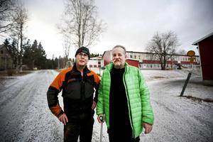 Det handlar om bygdens överlevnad, menar Leif Svedin (C) om högstadieskolan som hotas av nedläggning.