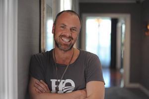 Svenske Bond. Fredrik Bond tar steget från reklamfilm till långfilm.Foto: Carl Nilsson