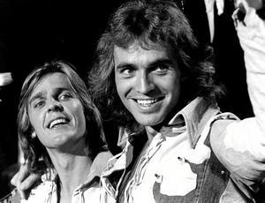 """1973. Melodifestivalen Göran Fristorp och Claes af Geijerstam vann den svenska finalen av Eurovisionsfestivalen med """"Sommar'n som aldrig säger nej"""". Arkivfoto: Ragnhild Haarstad /SVD /Scanpix"""
