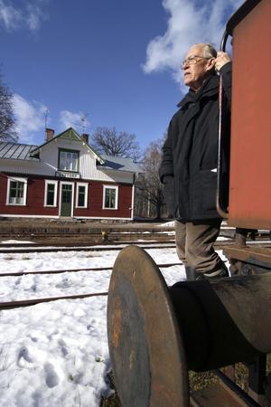 Upprustning. Det handlar om en totalupprustning av Gyttorps stationsområde med Käppstakajen, berättar Hans Eliasson.